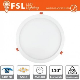 Downlight LED IP20 15W 4000K 1100LM 110° Φ192/Φ180