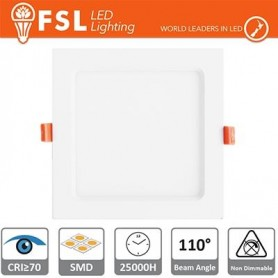 Downlight LED IP20 12W 4000K 900LM 110° Φ172/Φ160