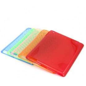 Arancione Tape plastica trasparente case for IPAD 2/3