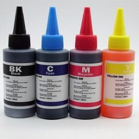 BLACK INK 100ml FOR HP LEXMARK CANON BROTHER B